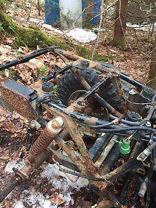 1986 Honda trx350 4x4 parts