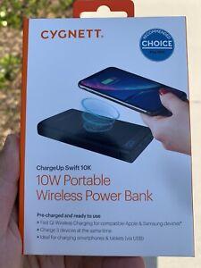 Cygnett chargeup swift 10k wireless power bank