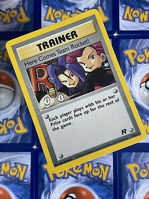 Pokemon Here Comes Team Rocket! - 15/82 - Holo Rare - Unlimited Edition - NM/EX