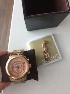 Michael kors special edition rose gold watch