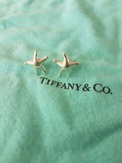 Brand new Tiffany & co xl starfish earrings. Rare and retired!
