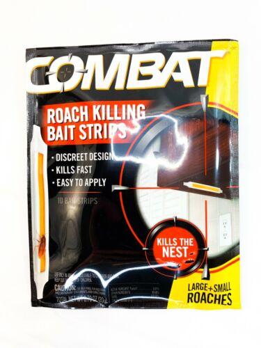 Combat Roach Killing Bait Strips Lot Of 40 Strips New