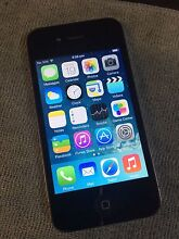 Black iphone 4S  16GB 6month warranty Meadowbrook Logan Area Preview