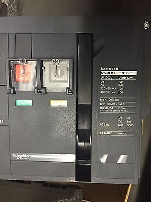 Circuit Break MasterPact NW50 H1 Schneider Electric  Micrologic 5.0A