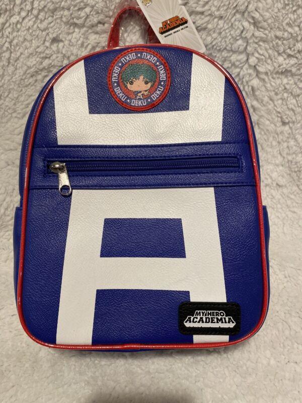 NEW My Hero Academia Funky POP Deku Mini Backpack School Bag Limited Edition