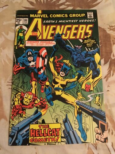 Marvel The Avengers #144 Comic Book (First Appearance of Hellcat)