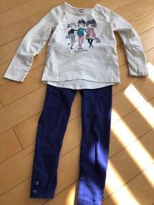 Gymboree outfit size 5