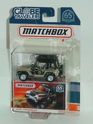 MATCHBOX 2018 65TH ANNIVERSARY JEEP WRANGLER 65th Anniversary Jeep Wrangler