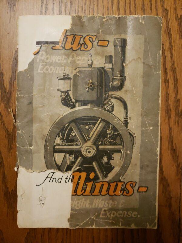 Cushman Gasoline Catalog Original Lincoln Nebraska