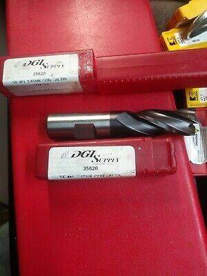 Lot Of 2 Dgi Supply 35820 34 X 34 4fl Altin Solid Carbide End Mill