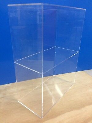 Ds-acrylic Lucite Countertop Display Showcase Cabinet 12 X 7 X 16h 1 Shelve