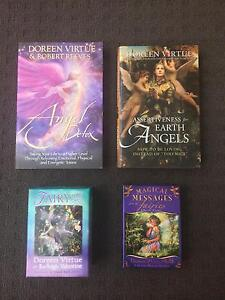 Assorted Doreen Virtue Books and Card Decks Landsdale Wanneroo Area Preview