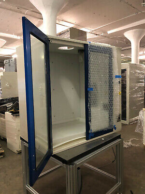 4 Kewaunee Chemical Bench Top Fume Hood With Work Surface Utility Inlets