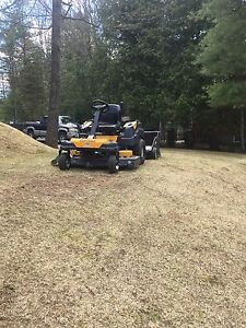 "54"" cub cadet zero turn BOUGHT NEW LAST YEAR ONLY 29 HOURS"