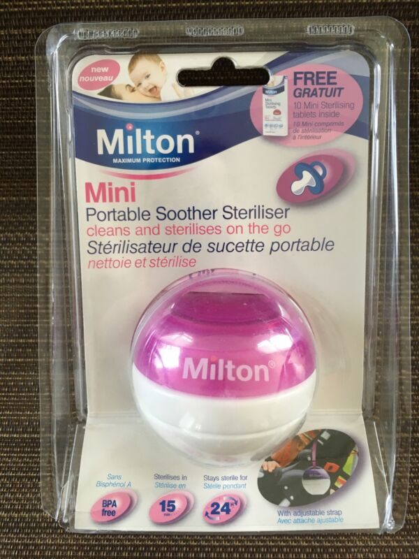 Mini Portable Soother/Pacifier Sterilizer NIP & FREE SHIPPING!