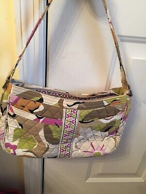 "VERA BRADLEY SMALL HOBO PURSE/BAG/POCKETBOOK ""PORTABELLO ROAD"" PATTERN"