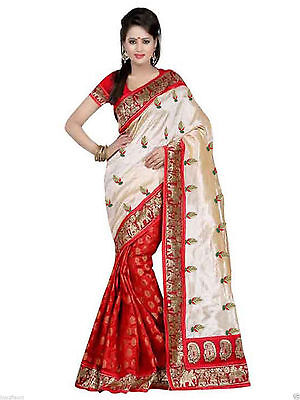 Bollywood Party Wear Saree Ethnic Pakistani Indian Designer Sari Wedding Dress