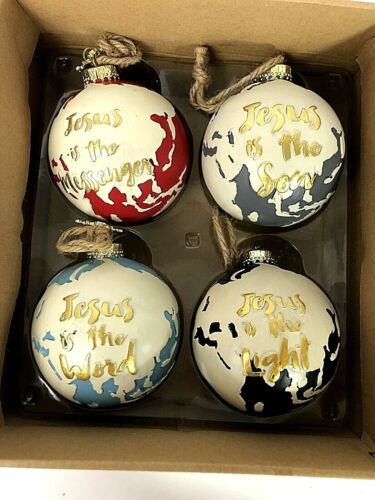 Ever Thine Home ADVENT Christmas Ornaments Christian Wedding Shower Baby Gift