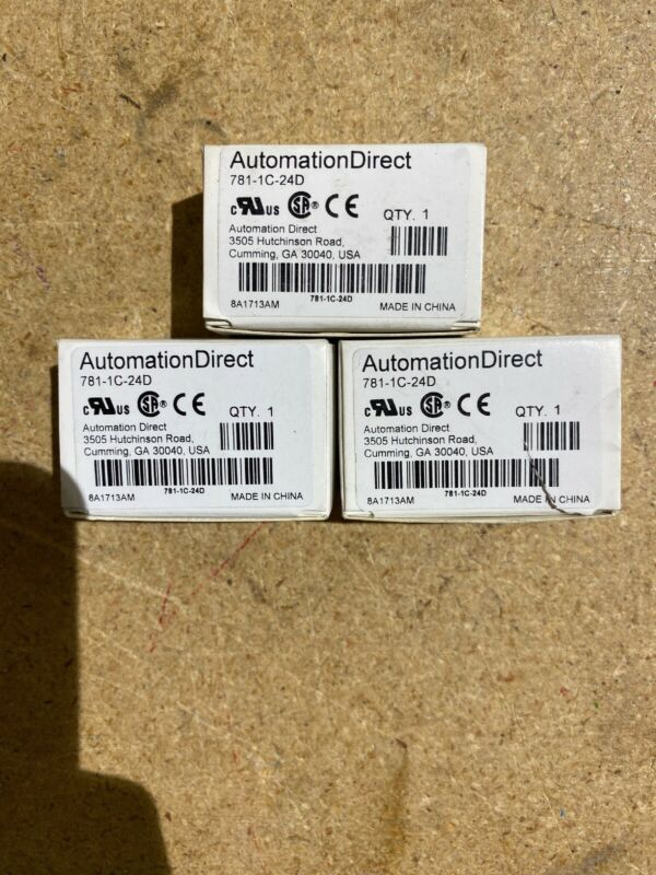 Automation Direct 781-1c-24d Lot Of 3