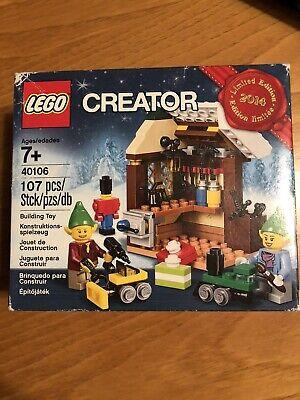 NIB Lego Creator Limited Edition 2014 Christmas Set # 40106  FREE SHIPPING