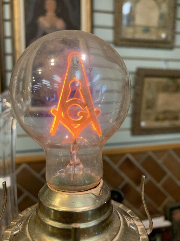 Masonic Lodge Light Bulb