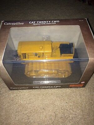 Die Cast Caterpillar Twenty Two Crawler Tractor 1/16 Norscot 55154 In Box