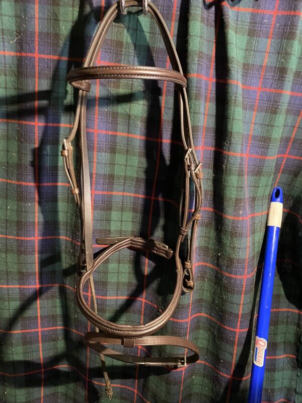 Brown Flash Bridle Full Suze