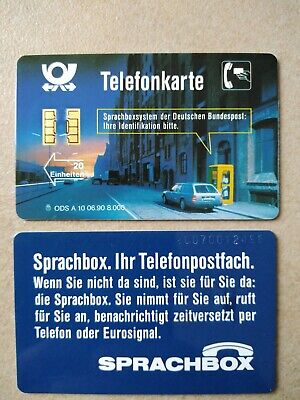 TK Telefonkarten Phonecard Deutschland A 10 06.90 Sprachbox (Calling Card Box)