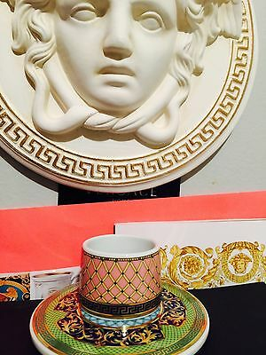 VERSACE RUSSIAN DREAM NAPKIN RING HOLDER ROSENTHAL New RETIRED