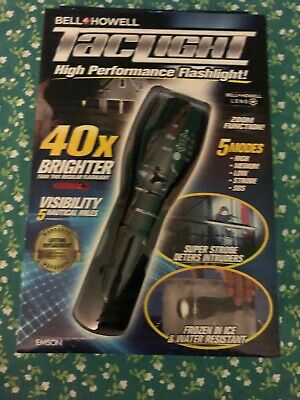 Bell howell taclight flashlight