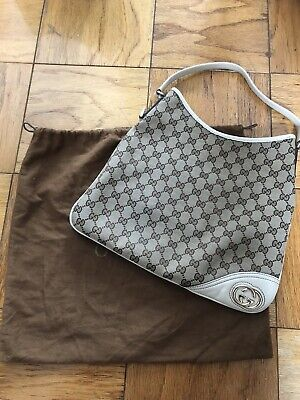 gucci canvas bag Vintage