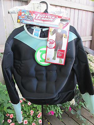 Justice League Green Lantern Halloween  Costume Boys Size 12-14 - Green Lantern Costume For Boys