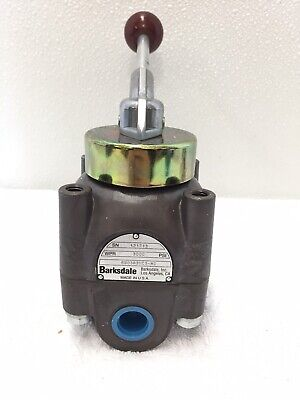 Barksdale Hydraulic Selector Flow Control High Pressure Valve 6903r3hc3-mc