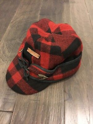 Polo Ralph Lauren Buffalo Plaid Hunting Ear Flap Hat Trapper Large XL New Plaid Hat Earflap
