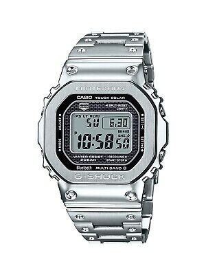 Authentic Men's G-Shock Casio Digital Stainless Steel Watch GMWB5000D-1