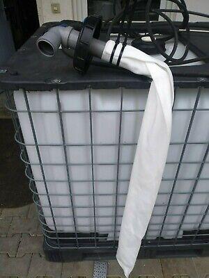 IBC Tank Regenfilter   Deckelfilter  Wasserfilter Algenfilter Filter
