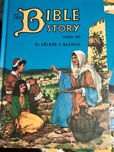 The Bible stories a series of 10 hard covered books