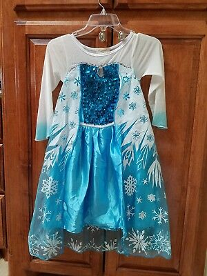 Disney Frozen Dress Costume. Sz. 4-6 Great for parties!!!
