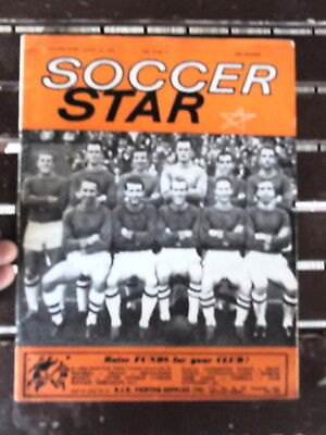SOCCER STAR OLD MAGAZINE OCT 12 1963 VOL 12 #4  PLYMOUTH ARGYLE COVER Argyle-cover
