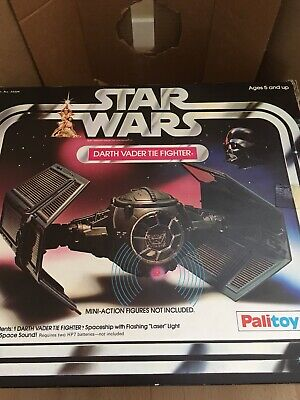 Star Wars Darth Vadar Tie Fighter Palitoy/kenner Vintage Unused Stickers Pos UKG