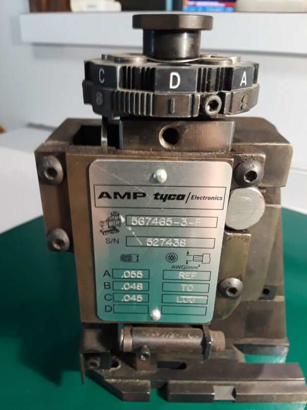 Amp Tyco Electronics Applicator 567465-3-F