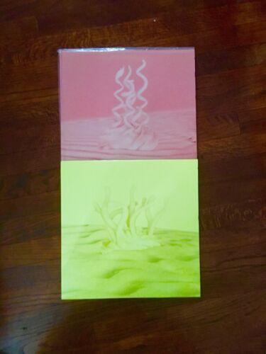 Serato Pastel yellow/coral  control vinyl