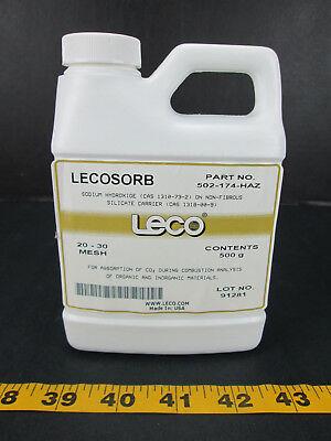 Leco Lecosorb Sodium Hydroxide 20-30 Mesh Part No. 502-174-haz Absorption Skua T