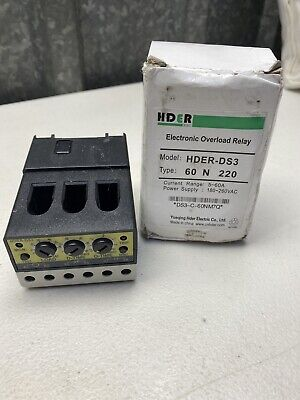 Hder Electronic Overload Relay