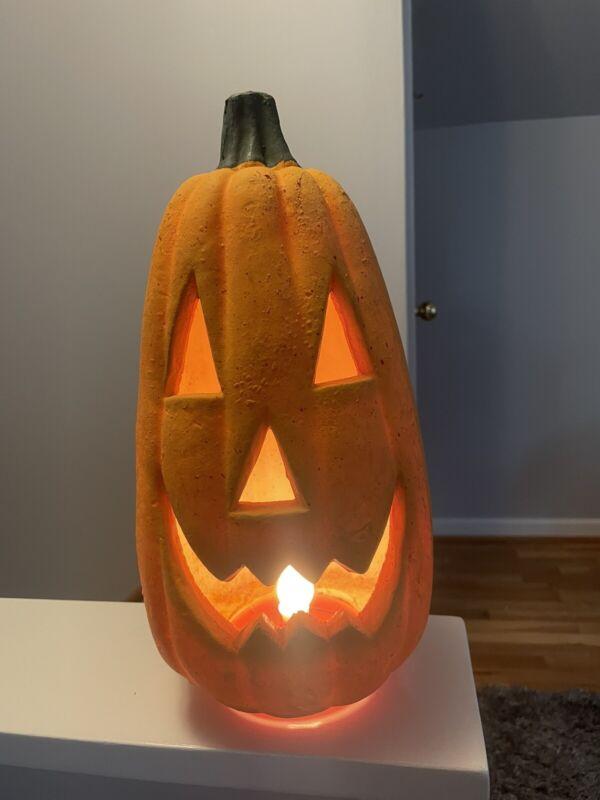 Vintage Tall Halloween Jack-o-Lantern