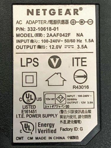 Original NETGEAR Power Supply Adapter, 12V, 3.5A, ROUTER, LED STRIP, CCTV CAMERA