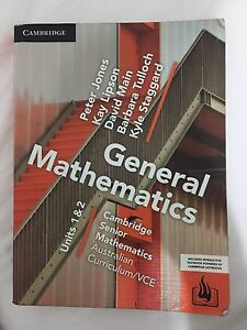 General Mathematics Units 1&2 Craigieburn Hume Area Preview