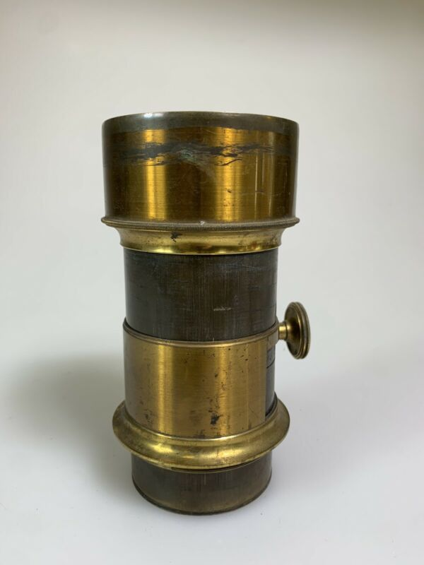 Jamin A Darlot Paris 1860 Petzval - Brass lens EARLY