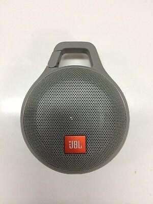 JBL Clip Plus + Splashproof Portable Bluetooth Speaker Gray