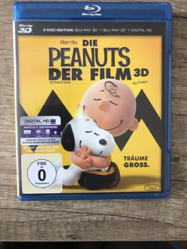 DIE PEANUTS DER FILM 3D + 2D Blu-ray-Disc, Neuwertig